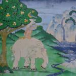 Artwork at Songzanlin Monastery.