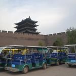 Walls of Pingyao, China.