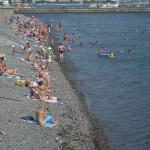 Novorossiysk beach.
