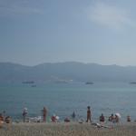 Beaches of Novorossiysk.