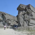 Memorial site in Kerch.