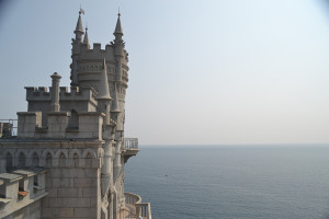 The Swallow's nest, a decorative castle located between Yalta and Sevastopol.