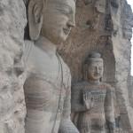 Yungang Grottoes of China.