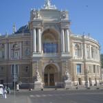 Architecture in Odessa.