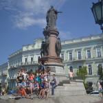 Monument in Odessa.
