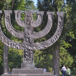 Jewish monument in Kiev.