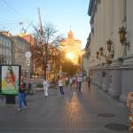 Streets of Kiev.