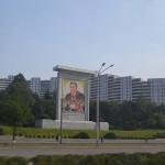 Building in Pyongyang, North Korea.