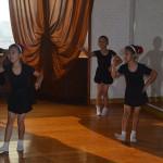Children performing ballet in Pyongyang.