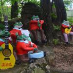 Frog musicians in Mt Kumgang region.