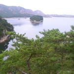 Samil lagoon, in Mt Kumgang region, North Korea.