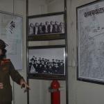 Inside of the Korea War Museum in North Korea.
