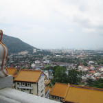 At the top of Kek Lok Si temple.