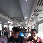 The train at Penang Hill.