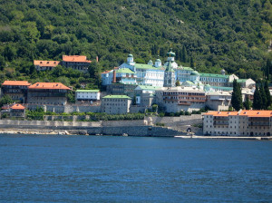The Holy Mountain at Mount Athos