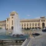The Republic Square in Yerevan