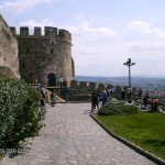 The castle at Thessaloniki