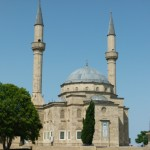 Turkish Mosque in Baku.