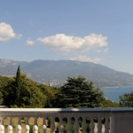 View of the coastline from Livadia Palace