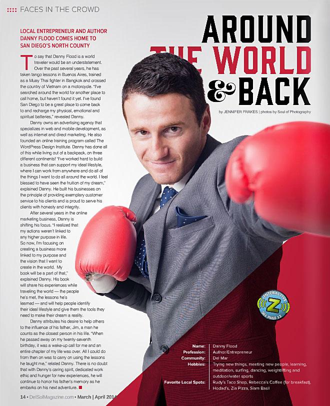 Danny Flood, founder of OpenWorld Magazine.