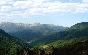 The Mrav mountain range in Nagorno-Karabkh.