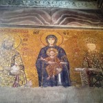 12th century mosaic panel at Hagia Sophia
