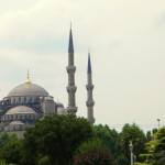 Blue Mosque is looking magnificent