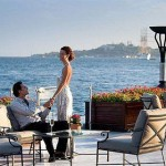 Couple near the Bosphorus River