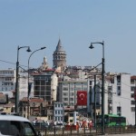 Can you see Galata Tower peeking out?