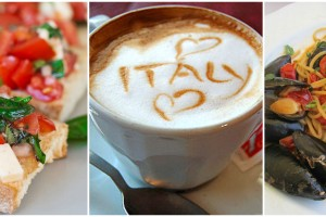 Mouth watering food dishes from Italy!