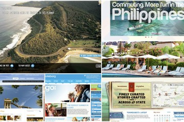 A collection of 20 of the best travel destination websites.