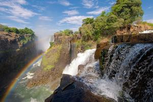 The Zambezi River, Victoria Falls.