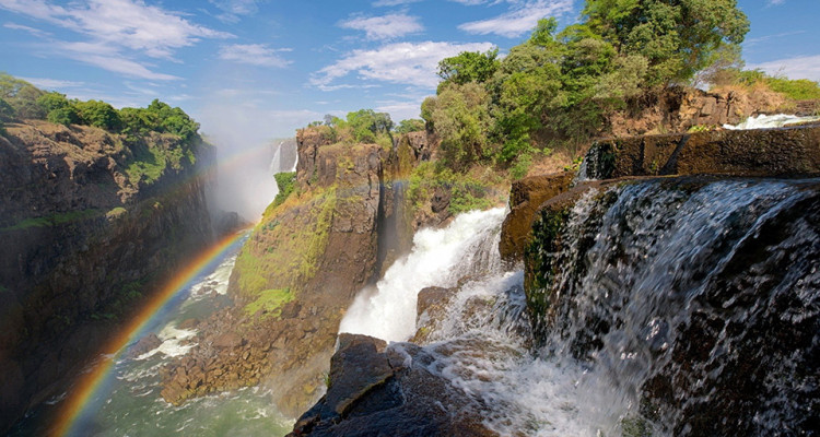 The Zambezi River, Victoria Falls.