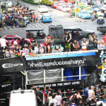 Songkran festival in Bangkok.