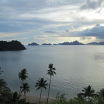 Sunset at Corong-Corong, near El Nido
