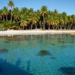 Nuku Hiva beach.
