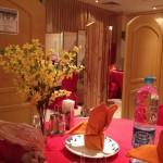 Saudi restaurant interior