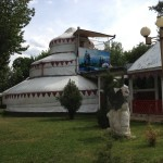 Three story Yurt in Osh