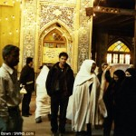 At an Islamic shrine in Tehran, Iran.