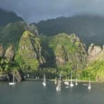 Marquesas Islands Hanavave Fatu Hiva Marquesas