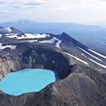 Volcanic crater in Kamchatka.