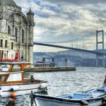 Bosphorus bridge in Istanbul