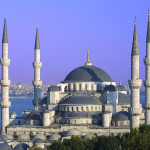 The famous Blue Mosque of Istanbul.