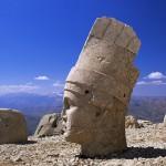 Stone sculptures of Nemrut Mountain, Turkey.