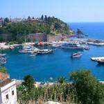 Marina of Antalya, Turkey.