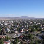 Aerial view of Kars, Turkey.