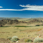 Open plains of Tuva.