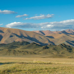 Rolling mountains of Tuva
