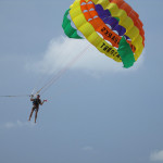 Paragliding in Penang.