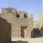 Back streets in Timbuktu